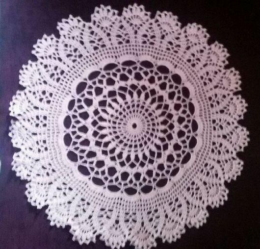 Текстиль, ковры ручной работы. Ярмарка Мастеров - ручная работа. Купить Салфетка. Handmade. Салфетка крючком, подарок на 8 марта