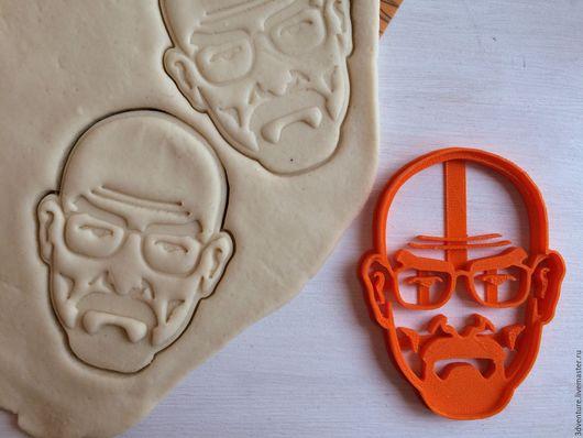 Кухня ручной работы. Ярмарка Мастеров - ручная работа. Купить Форма для печенья Хайзенберг. Handmade. Разноцветный, формочка для печенья