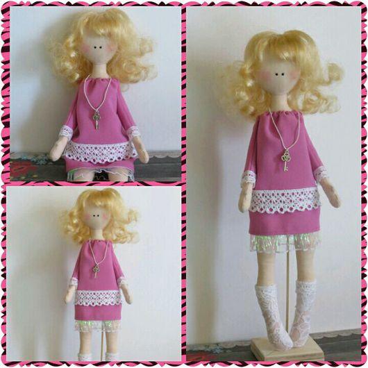 Коллекционные куклы ручной работы. Ярмарка Мастеров - ручная работа. Купить Текстильная интерьерная кукла. Handmade. Кукла интерьерная