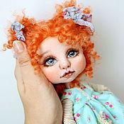 Куклы и игрушки ручной работы. Ярмарка Мастеров - ручная работа Мэгги. Текстильная кукла. Handmade.