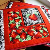 Для дома и интерьера handmade. Livemaster - original item Napkins for Table Setting, lunch And Apples. Handmade.