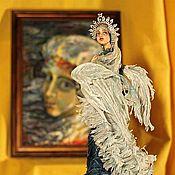 """Куклы и игрушки ручной работы. Ярмарка Мастеров - ручная работа Авторская кукла""""Царевна Лебедь"""". Handmade."""