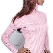 """Одежда ручной работы. Ярмарка Мастеров - ручная работа Водолазка """"лапша"""" /розовый дымчатый. Handmade."""