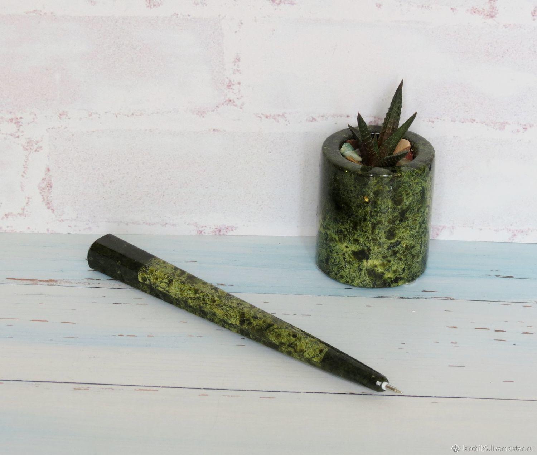 Ручка из змеевика натурального, Ручки, Ижевск,  Фото №1