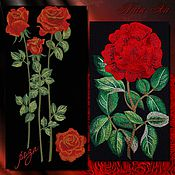 Материалы для творчества handmade. Livemaster - original item Design for machine embroidery. Rose garden (set). Handmade.