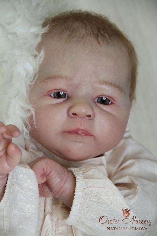 Куклы-младенцы и reborn ручной работы. Ярмарка Мастеров - ручная работа. Купить Юля. Handmade. Кремовый, sabine altenkirch, фланель