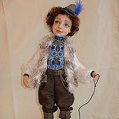 """Куклы и игрушки ручной работы. Ярмарка Мастеров - ручная работа Авторская Кукла """" Мартин"""" из полимерной глины. Handmade."""