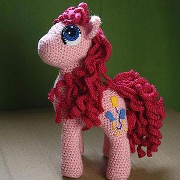 Куклы и игрушки ручной работы. Ярмарка Мастеров - ручная работа Игрушки: пони Пинки Пай. Handmade.