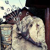 Дизайн и реклама ручной работы. Ярмарка Мастеров - ручная работа Жар-птица - художественная ковка, панно, барельеф. Handmade.