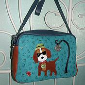 Сумки и аксессуары handmade. Livemaster - original item Bag cross body leather