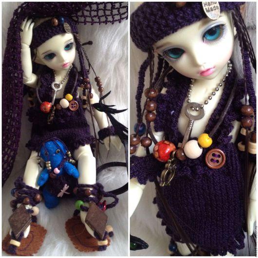 """Одежда для кукол ручной работы. Ярмарка Мастеров - ручная работа. Купить """"По следам Аватара"""" комплект для куклы. Handmade. бусины"""
