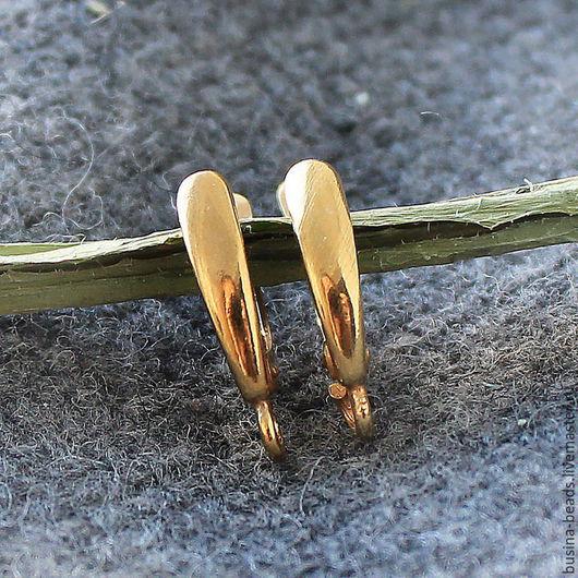 Швензы Мельхиор Золото, Швензы английский замок Швензы из мельхиора используются для сборки сережек Английский замок