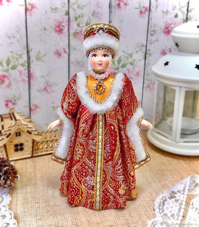 Кукла Московская боярыня, Куклы и пупсы, Хотьково,  Фото №1