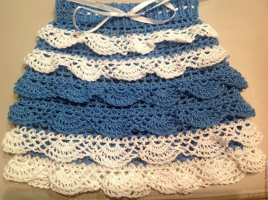Одежда для девочек, ручной работы. Ярмарка Мастеров - ручная работа. Купить Юбочка синяя. Handmade. Синий, юбочка, юбочка для девочки