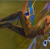 """Картины и панно ручной работы. Ярмарка Мастеров - ручная работа Картина """"Сон"""". Handmade."""