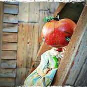 Куклы и игрушки ручной работы. Ярмарка Мастеров - ручная работа Яблоко и друг. Handmade.