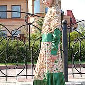 Одежда ручной работы. Ярмарка Мастеров - ручная работа Салатовое платье. Handmade.