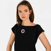 Одежда handmade. Livemaster - original item Women T-shirt with soft sleeves. Handmade.