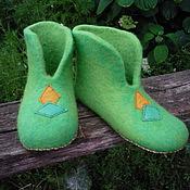 Обувь ручной работы handmade. Livemaster - original item Chuni home