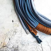 Украшения ручной работы. Ярмарка Мастеров - ручная работа Трикотажный шарфобус Питер. Handmade.
