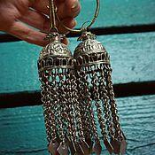 handmade. Livemaster - original item Earrings from Afghanistan 3 models. Handmade.