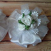 Работы для детей, handmade. Livemaster - original item Elegant bows to school on September 1(copy). Handmade.