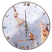 Для дома и интерьера handmade. Livemaster - original item Wall clock quartz Goebel Germany. Handmade.