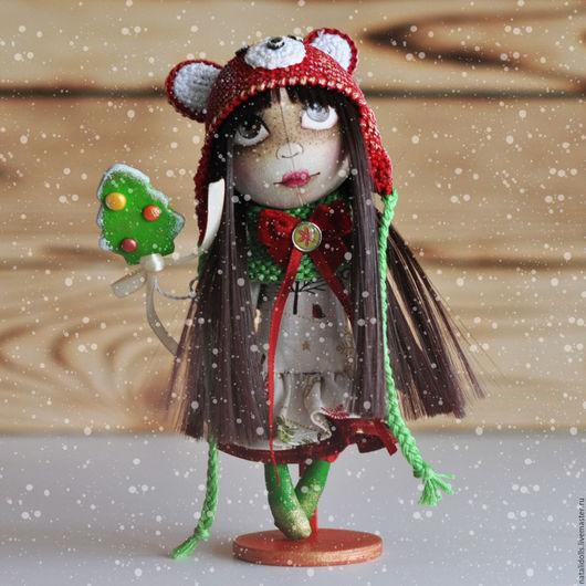 Коллекционные куклы ручной работы. Ярмарка Мастеров - ручная работа. Купить CHRISTMAS CRUMBS 7 (Рождественские крохи). Handmade.
