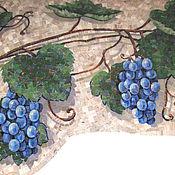 Картины и панно ручной работы. Ярмарка Мастеров - ручная работа Виноградная лоза, мозаика. Handmade.