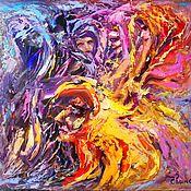 Картины и панно handmade. Livemaster - original item Abstract oil