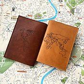 Сувениры и подарки handmade. Livemaster - original item Cover for passport and documents. Handmade.