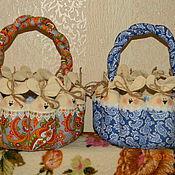 Подарки к праздникам ручной работы. Ярмарка Мастеров - ручная работа Пасхальные корзины. Handmade.