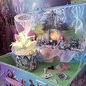 Interior elements handmade. Livemaster - original item Suitcase for Alice ( tea party). Handmade.