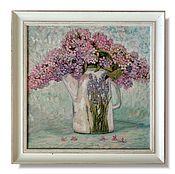 """Картины и панно handmade. Livemaster - original item """"Lilac.Provence."""". Handmade."""