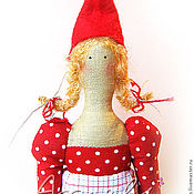 """Куклы и игрушки ручной работы. Ярмарка Мастеров - ручная работа Интерьерная кукла """"Рождественская девочка"""". Handmade."""