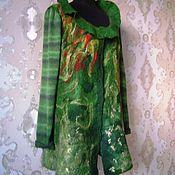 Одежда ручной работы. Ярмарка Мастеров - ручная работа Лесной ручей. Женский валяный жакет. Handmade.