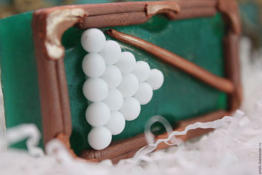"""Мыло ручной работы. Ярмарка Мастеров - ручная работа. Купить Набор мыла """"Бильярд"""". Handmade. Комбинированный, подарок на 23 февраля"""