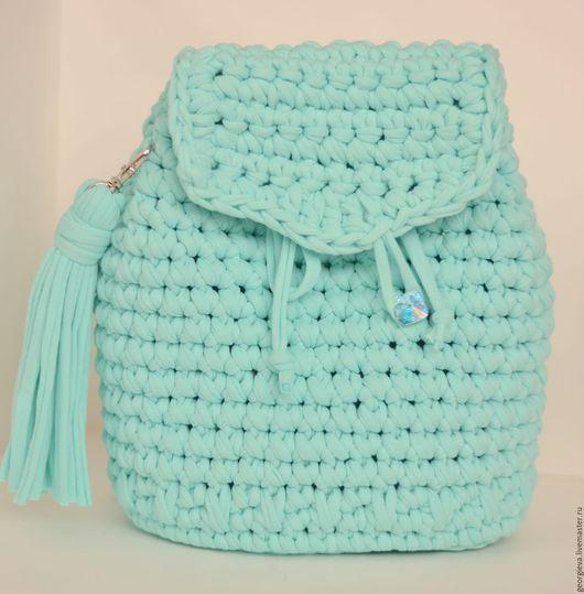 рюкзак, рюкзаки, рюкзачок, рюкзачки, вязаный рюкзак, вязаные рюкзаки, для девочки, для девушки, на море, для пляжа, отдых, отпуск, море, подарок, поездки, лето, аксессуар, вязаный аксессуар
