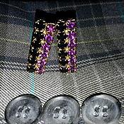 Винтаж handmade. Livemaster - original item Cufflinks CZECHOSLOVAKIA amethyst agate, gilt.New 1960s.. Handmade.