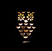 Материалы для творчества handmade. Livemaster - original item Ceramic night light