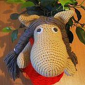 Куклы и игрушки ручной работы. Ярмарка Мастеров - ручная работа Вязаная лошадка Маруся. Handmade.