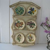 Для дома и интерьера handmade. Livemaster - original item Decorative shelf for kitchen. Handmade.