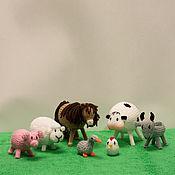 Куклы и игрушки ручной работы. Ярмарка Мастеров - ручная работа Ферма (домашние животные). Handmade.