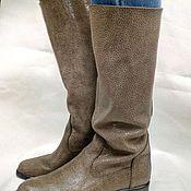 Обувь ручной работы. Ярмарка Мастеров - ручная работа Сапоги без подклада. Handmade.
