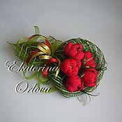 Цветы и флористика ручной работы. Ярмарка Мастеров - ручная работа Тюльпанчики (букет из конфет). Handmade.