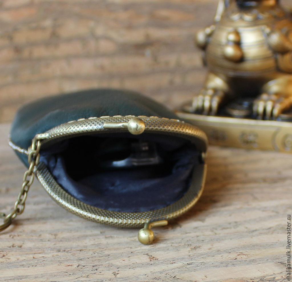 футляр для очков - очечник кожаный чехол телефон