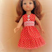 Куклы и игрушки ручной работы. Ярмарка Мастеров - ручная работа Летний сарафан для Паола Рейна. Handmade.