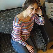 Одежда ручной работы. Ярмарка Мастеров - ручная работа Веселый полосатик. Handmade.