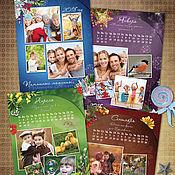 Дизайн и реклама ручной работы. Ярмарка Мастеров - ручная работа Календари с фото. Handmade.