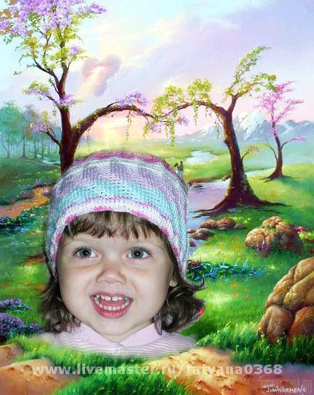 Шапки и шарфы ручной работы. Ярмарка Мастеров - ручная работа. Купить ШАПОЧКА на девочку. Handmade.